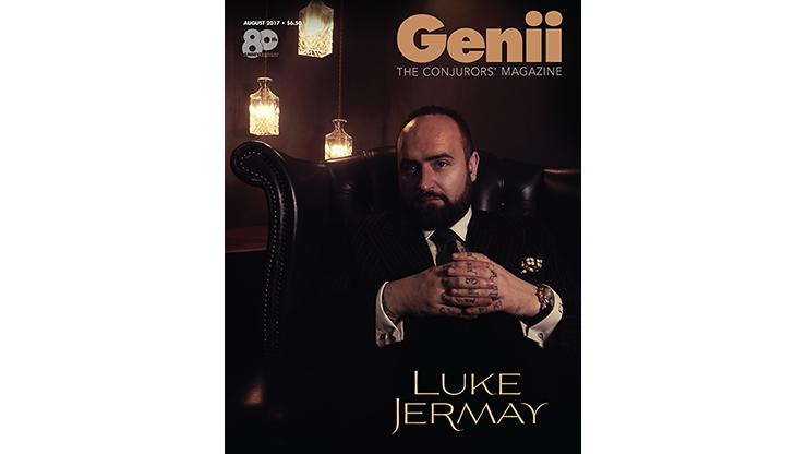 Genii Magazine Luke Jermay August 2017
