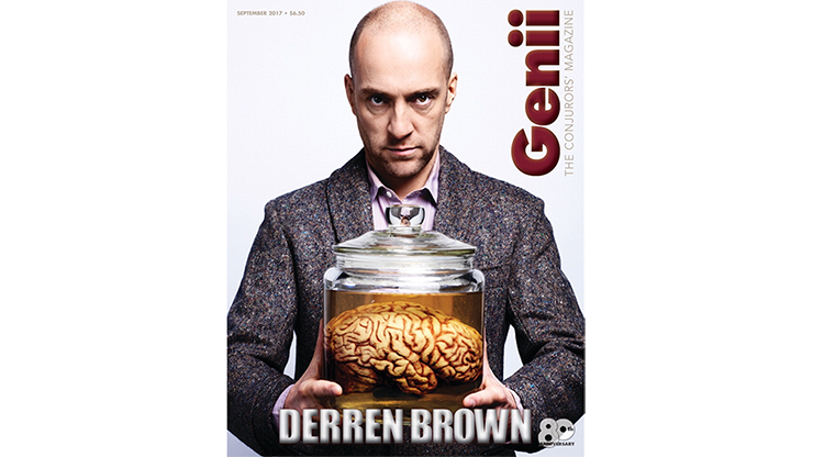 "Genii Magazine ""Derren Brown"" September 2017 - Book"