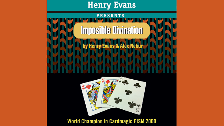 Impossible Divination (Gimmicks and DVD) by Henry Evans and Alex Nebur