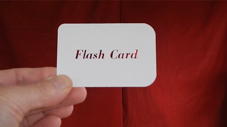 FLASH CARD by G Sparks - Trick