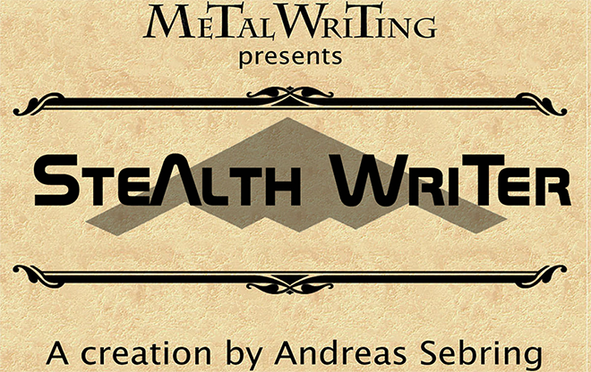 Stealth Writer Complete Set by MetalWriting