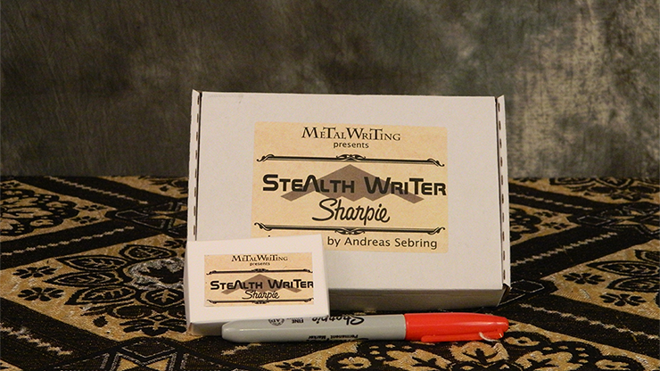 The Sharpie Stealth Writer by MetalWriting - Trick