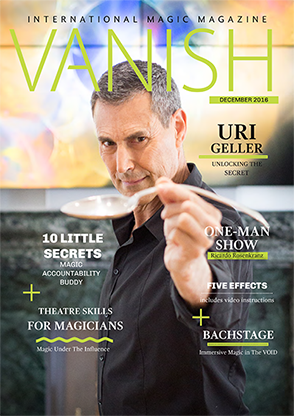 VANISH Magazine December/January 2017 - Uri Gellar eBook DOWNLOA