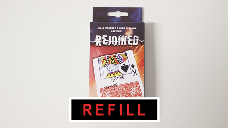 Rejoined refill by João Miranda Magic and Julio Montoro - Trick