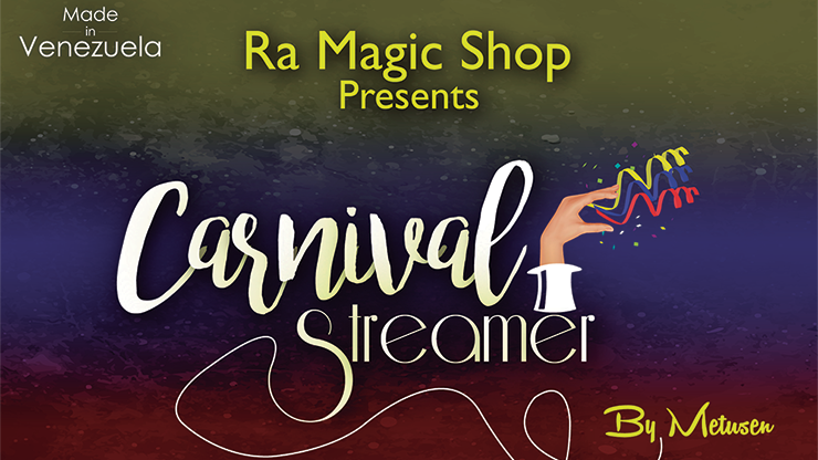 Carnival Through Streamer (White) by Ra El Mago and Metusen- Trick