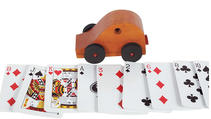 Card Buggy (Wood)