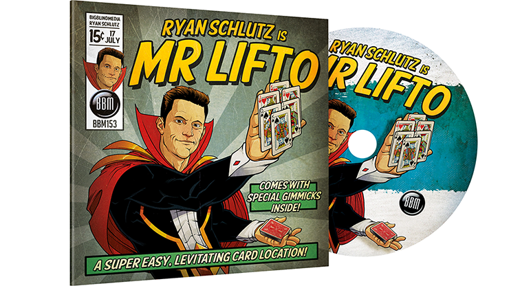 MR LIFTO (DVD & Red Gimmicks) - Ryan Schlutz & Big Blind Media - DVD