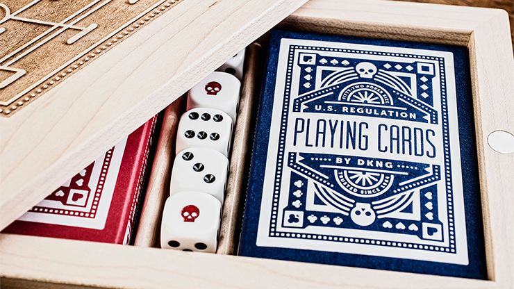 Blue Wheel Playing Cards - Art of Play