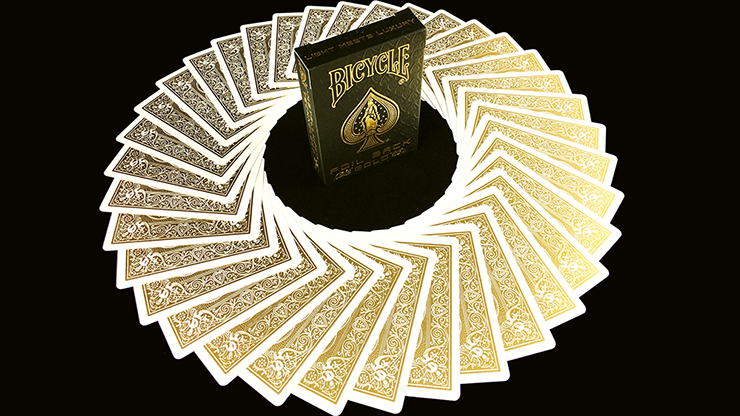 Bicycle MetalLuxe Gold Playing Cards Limited Edition - JOKARTE