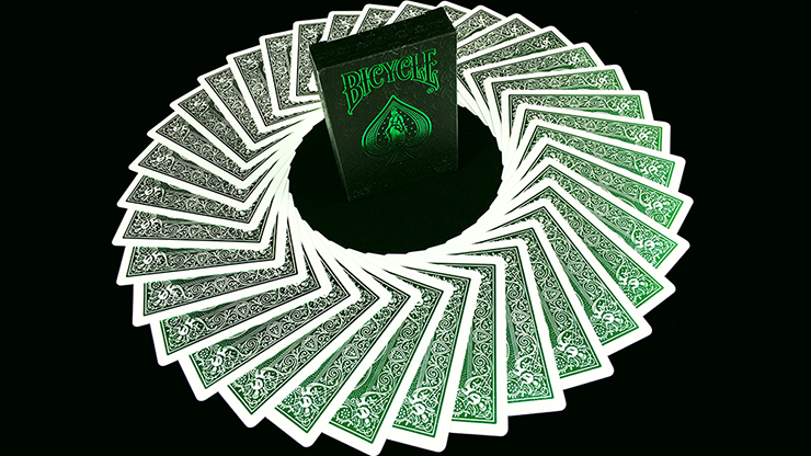 Bicycle MetalLuxe Emerald Playing Cards Limited Edition - JOKARTE
