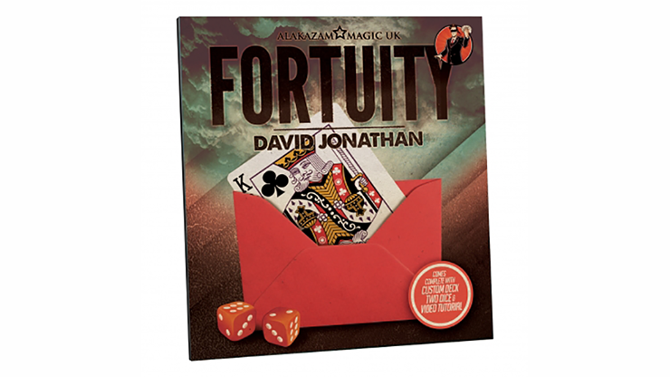Fortuity - David Jonathan (Gimmicks & DVD)