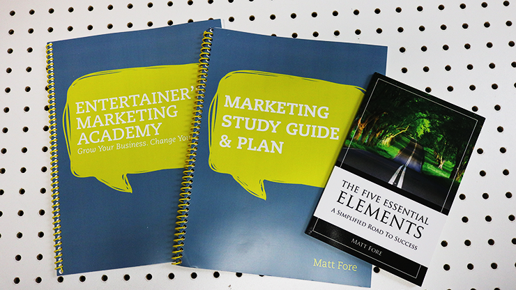 Entertainer's Marketing Academy (EMA) - Matt Fore