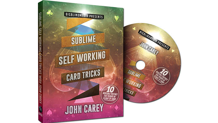 Sublime Self Working Card Tricks - John Carey - DVD