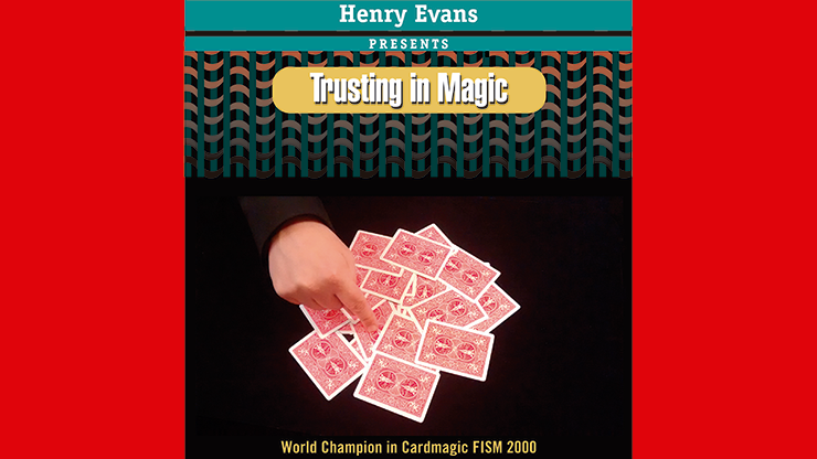 Trusting in Magic (DVD and Blue Gimmick) by Henry Evans - Trick