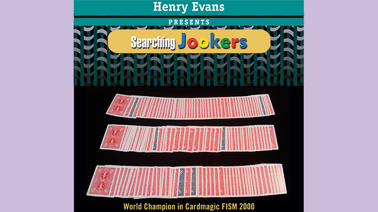 Searching Jookers (DVD and Blue Gimmicks) by Henry Evans