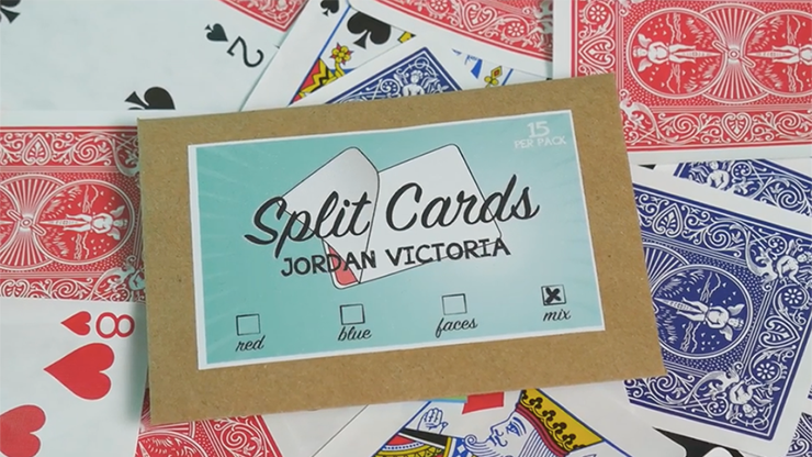 Split Cards 15 ct. (Mix) by PCTC - Trick