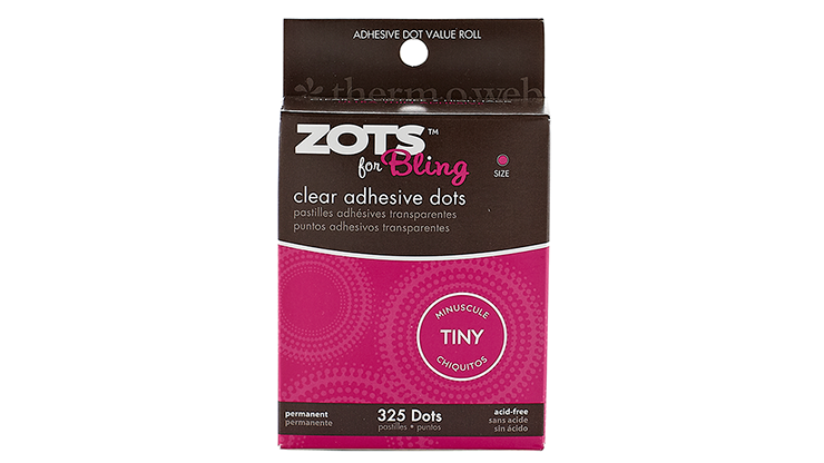 "Sticky Dots Tiny (1/8"" Diametro) Rollo de 325"