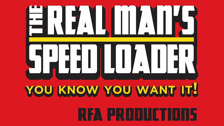 Real Man Speed Loader Plus Wallet - Tony Miller