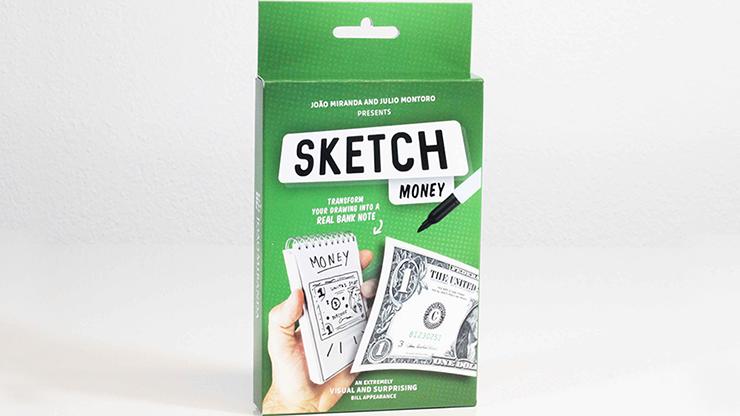 SKETCH MONEY by João Miranda and Julio Montoro - Trick