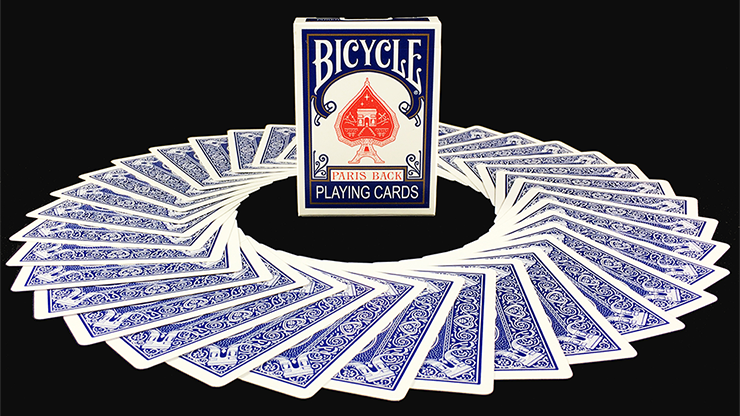 Bicycle Paris Back Limited Edition Blue Playing Cards - JOKARTE