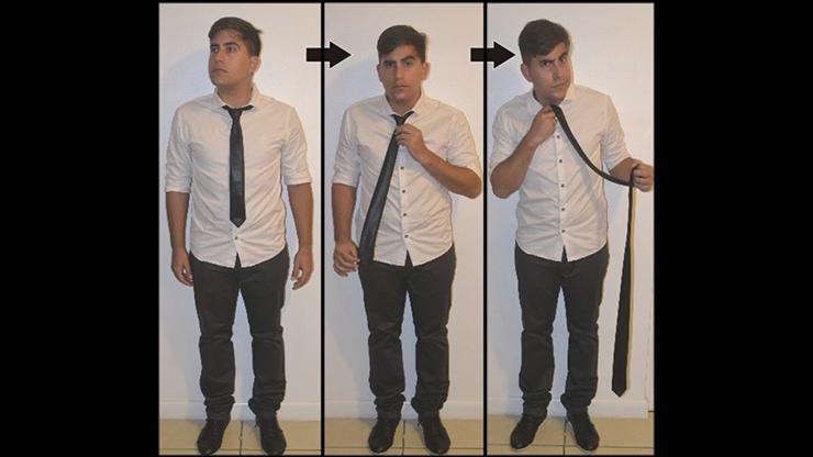 Comedy Necktie (Black) by Nahuel Olivera - Trick