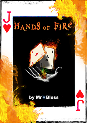 Hands of Fire by Mr Bless Mixed Media DOWNLOAD