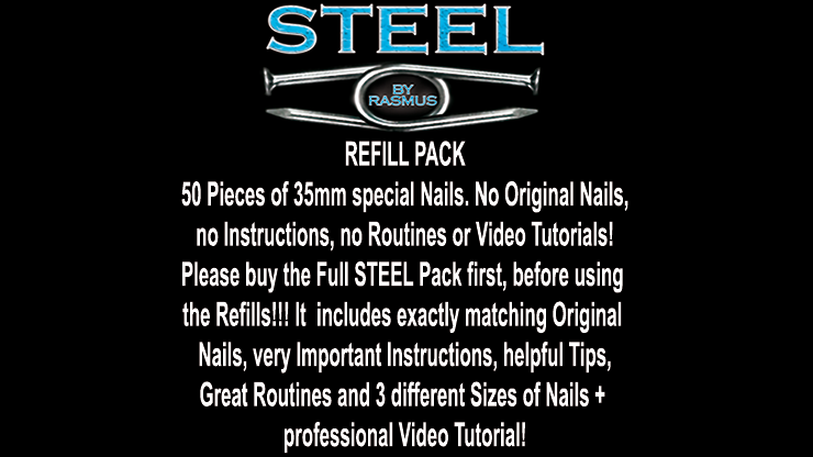 STEEL Refill Nails 50 ct. (35mm) - Rasmus