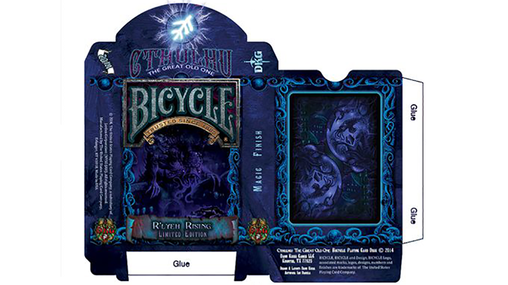Cartas Bicycle Cthulhu R\'LYEH RISING - Cartas Bicycle Edicion Limitada
