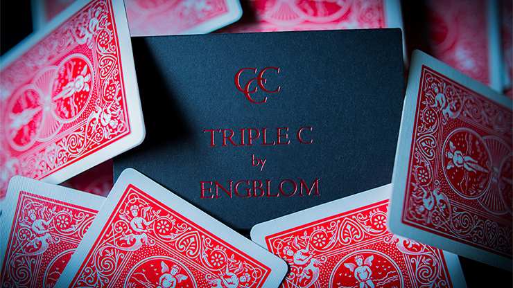 Triple C (Blue Gimmicks and Online Instructions) by Christian Engblom