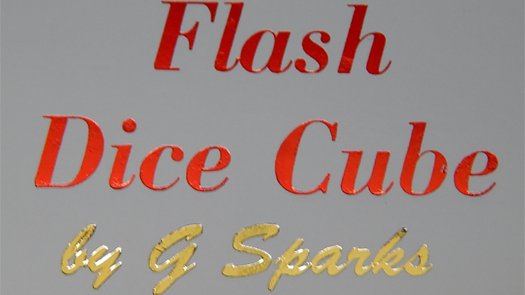 FLASH DICE CUBE (Rojo) - G Sparks