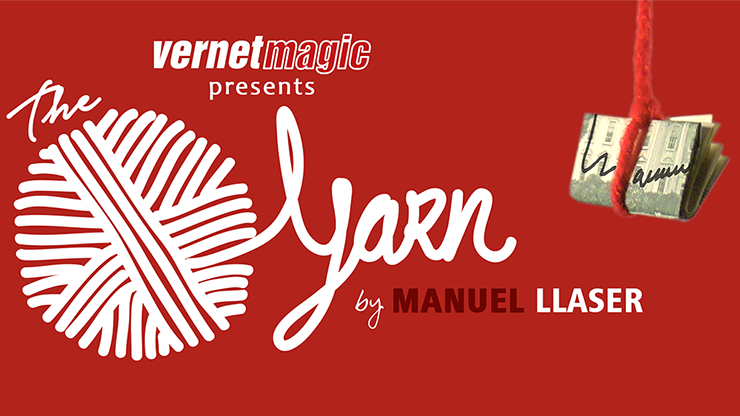 The Yarn (Gimmicks and Online Instructions) by Manuel LLaser - Trick