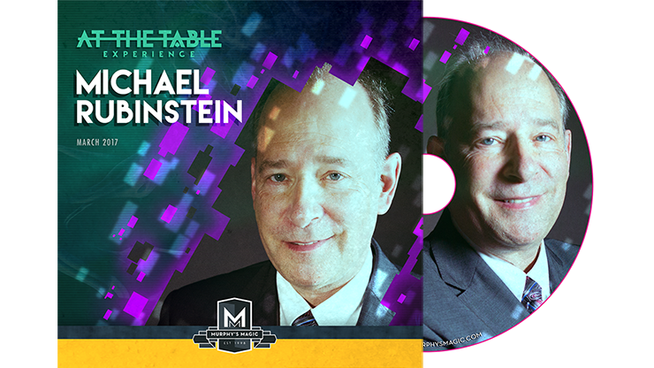 At the Table Live Lecture Michael Rubinstein - DVD