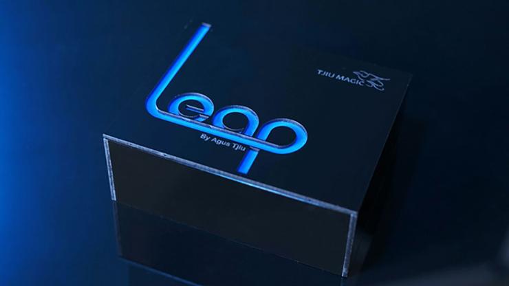 Leap by Agus Tjiu Münze/Ring erscheint in Glas unter Glas Copenetro-Effekt
