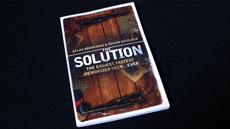 The Solution by Atlas Brookings - Book