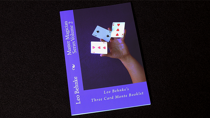 Three Card Monte Booklet by Leo... MagicWorld Magic Shop