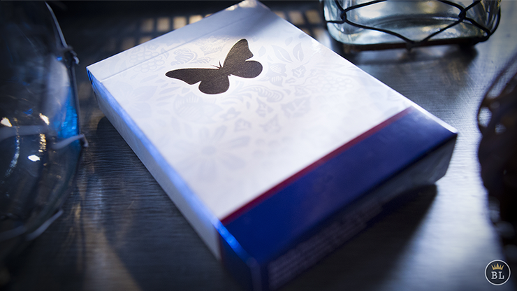 Butterfly Playing Cards Marked (AZUL) - Ondrej Psenicka