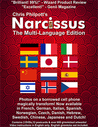 Narcissus (Multi-Language) by Chris Philpott - Zukunft mit Smartphone voraussagen etc.