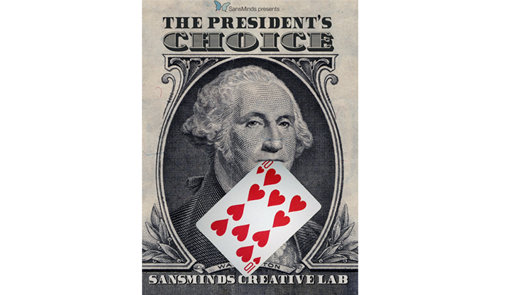 The President's Choice (DVD & Gimmicks)  - SansMinds - DVD