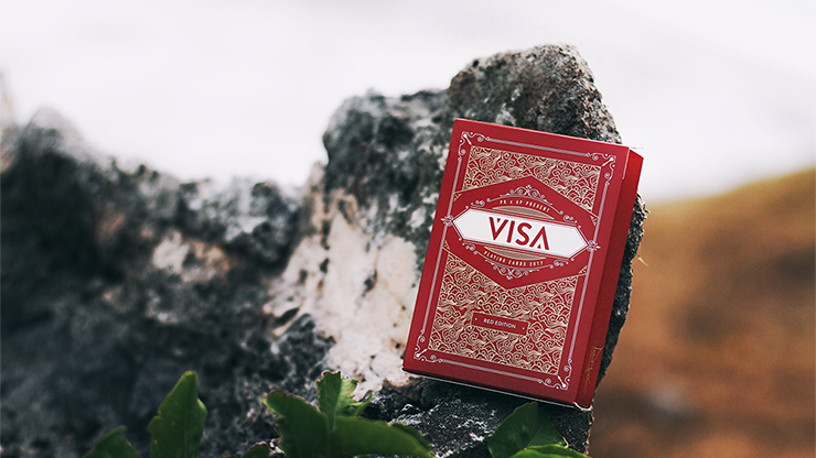 Visa Red Playing Cards - Patrick Kun & Alex Pandrea