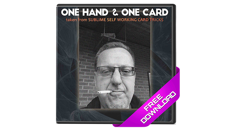One Hand & One Card (Excerpt from Sublime Self Working Card Tricks) - Big Blind Media - Video Descar