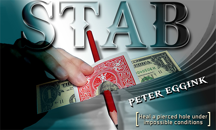 STAB by Peter Eggink - Geldschein-Restauration