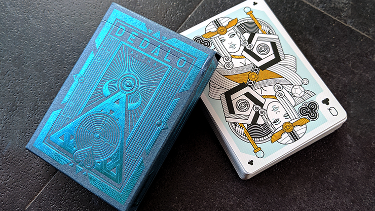 Dedalo Alpha Playing Cards by Giovanni Meroni