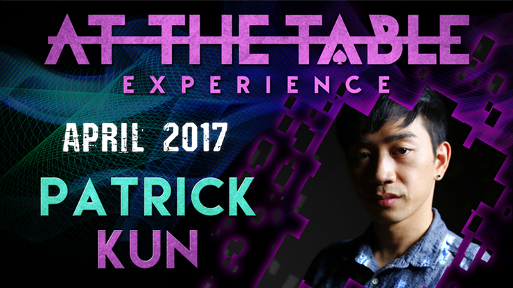 At The Table Live Lecture Patrick Kun  ( April 5th 2017 )