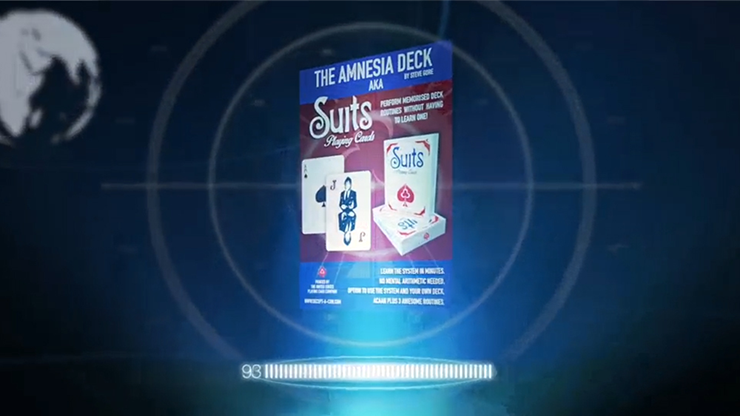 The Amnesia Deck AKA Suits Deck (Gimmick & Instrucciones Online) - Steve Gore