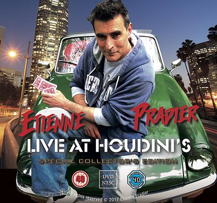 Etienne Pradier Live at Houdini's by Etienne Pradier - Trick