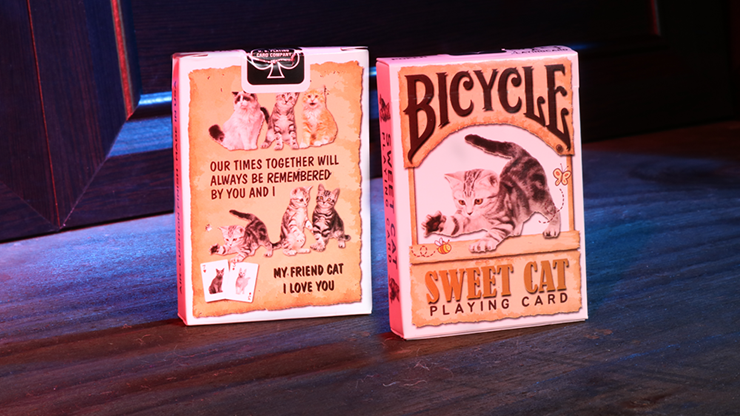 Cartas Bicycle Sweet Cat Playing Cards
