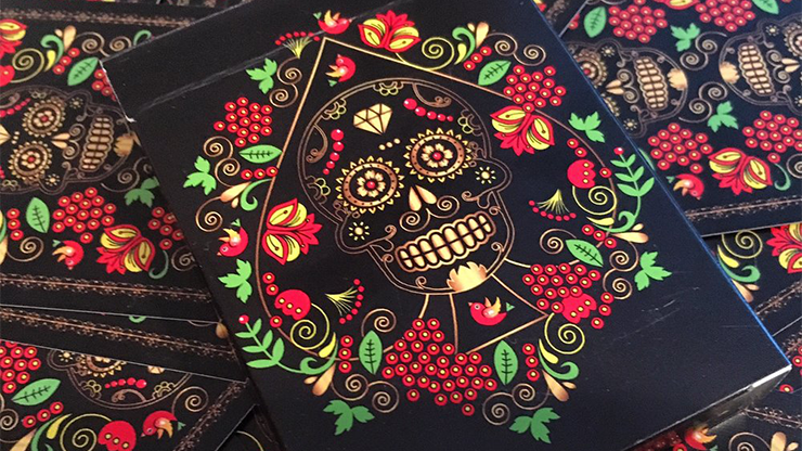 Cartas Bicycle Calaveras de Azucar - Black Edition
