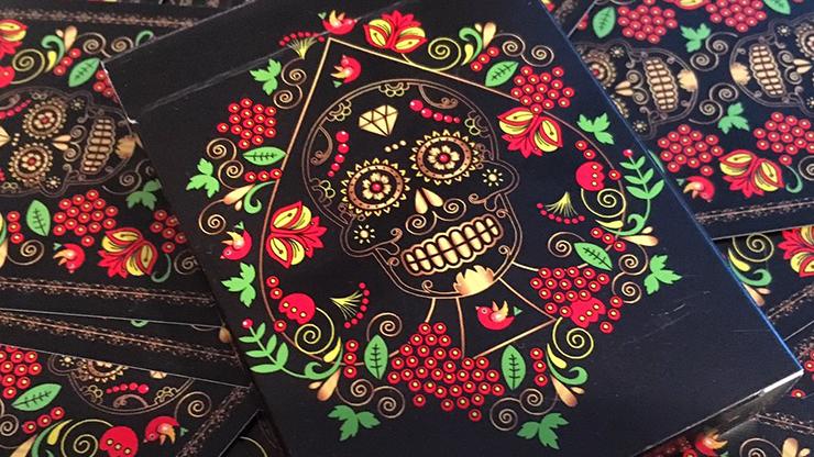 Carti de joc Calaveras de Azúcar Black Edition Printed