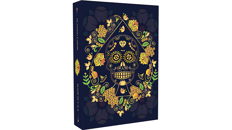 Cartas Bicycle Calaveras de Azucar - Blue Edition