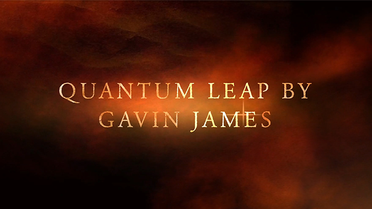 Quantum Leap Blue (Gimmicks and Online Instructions) by Gavin James